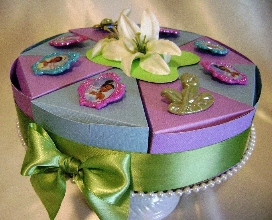 Disney Princess And The Frog Princess Tiana Birthday Favor