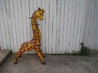 Vintage 1950s Giraffe Coat Rack