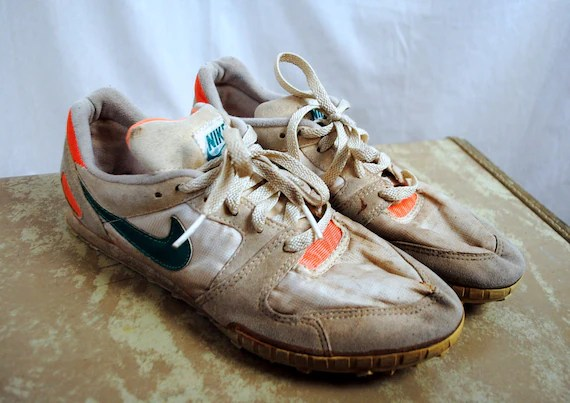 Beat Up Vintage 1989 Nike Sneakers Shoes Cleats Women's
