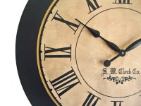 36 inch Lexington Large Wall Clock personalized by Klocktime