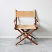 canvas directors chair by HRUSKAA on Etsy