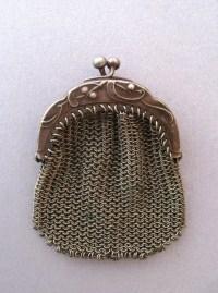 Antique Chatelaine Mesh Purse