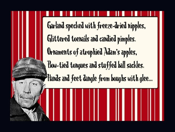 Ed Gein Christmas Card