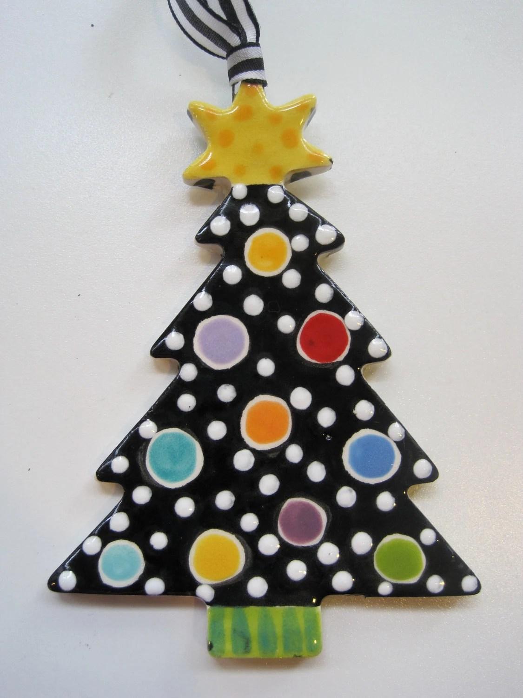 Ceramic Christmas Tree Coloring Page