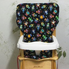 Evenflo High Chair Cover Red Salon Seat Coverjenny Lind/eddie Bauer Pad By Sewingsilly