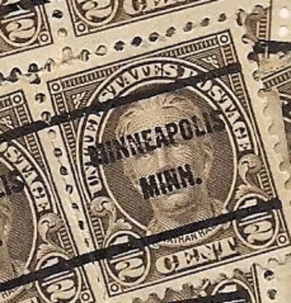 Cent Half Hale Postage Stamp Nathan