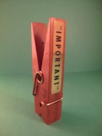 Big Wooden Clothespin Peg/Wood Giant Clothespin