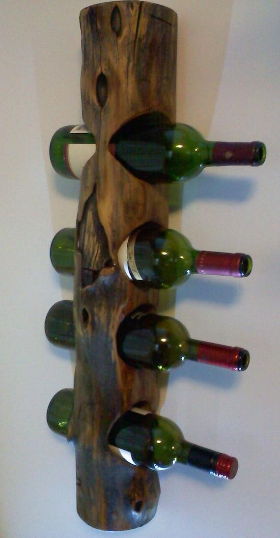 Unique Wall Hanging Wooden Wine Rack By AspenBottleHolders On Etsy