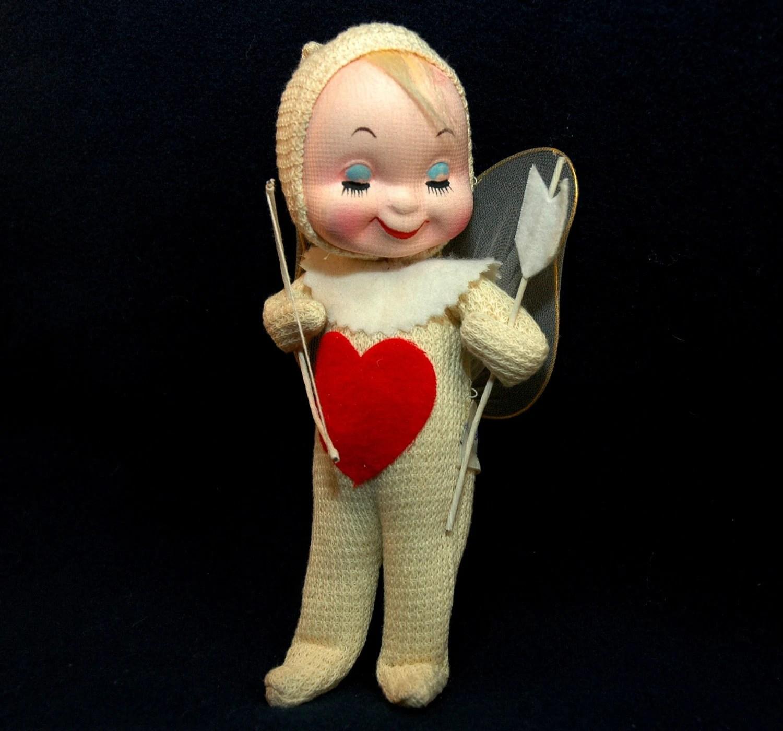 Gund Cupid Doll Vintage Gunderful Creation Cupid With Bow