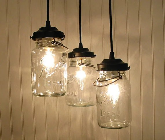 Canning Jar Pendant Lights
