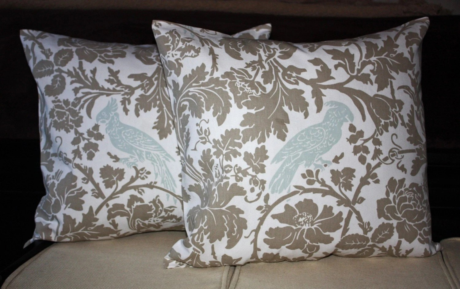 FREE SHIPPING Set of Two 26x26 inch Pillow Covers Euro Shams