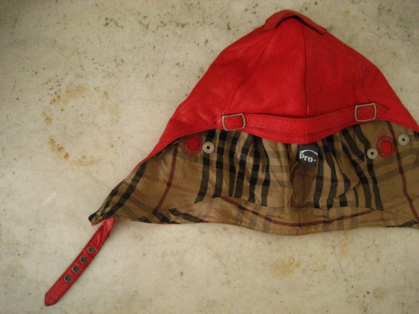 Amelia Earhart Vntg Leather Flight Cap Lallorona