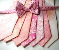 Pink Neckties Neckties Mens Neckties Cotton Neckties