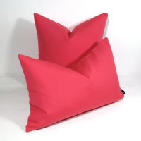 Hot Pink Outdoor Pillow Cover Indoor Decorative by Mazizmuse
