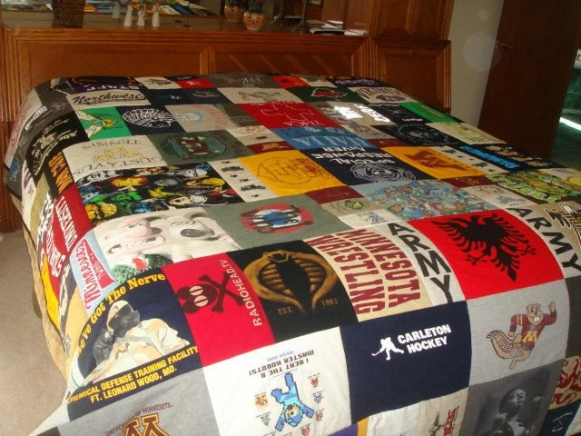 King Size T Shirt Quilt