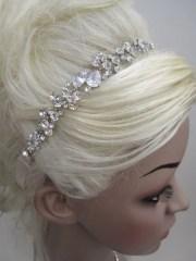 bridal headband wedding hair accessory