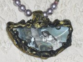 Tourmaline And Pearl Art Nouveau Necklace - newellwoods