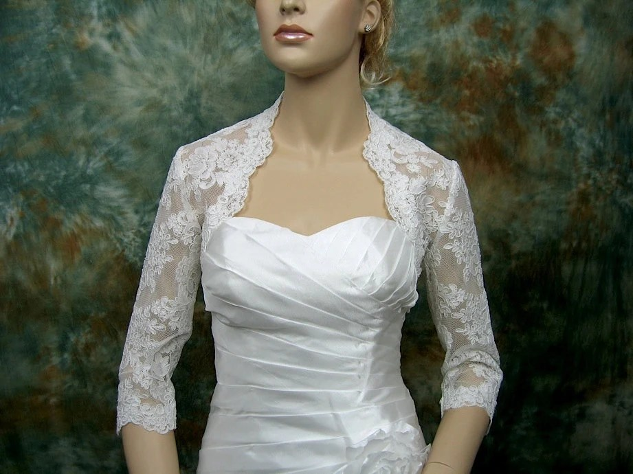 Lace Bolero Wedding Bolero Wedding Topper Bridal Jacket