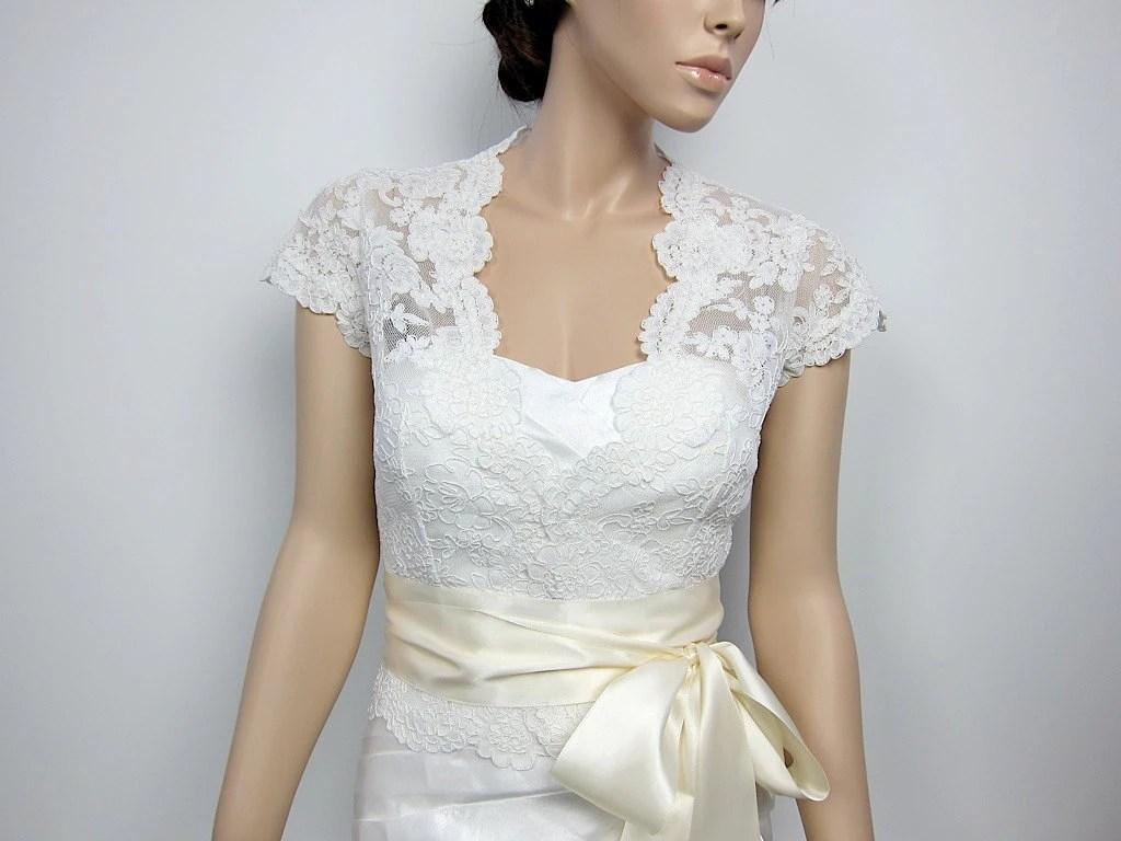 Lace bolero wedding jacket bridal bolero wedding bolero