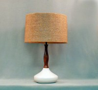 Vintage Table Lamp-White Ceramic by LiseVintageLighting on ...