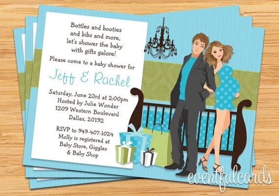 African American Couple Wedding Invitations