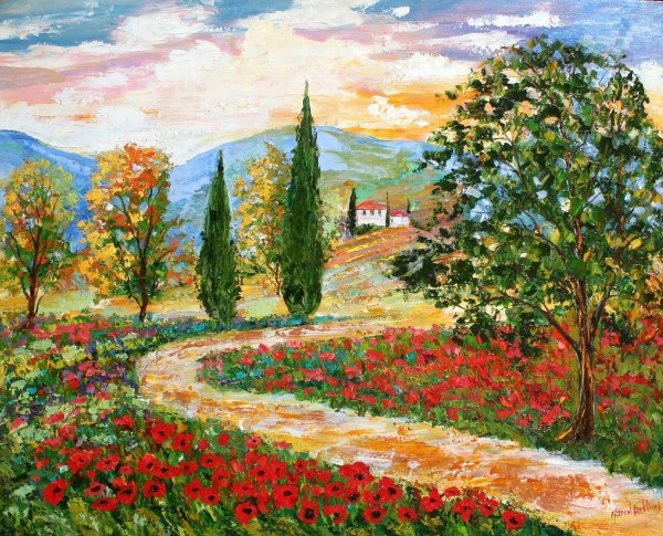 landscape painting original oil