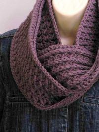 Crochet Scarf Pattern Textured Cowl Crochet Pattern No.501