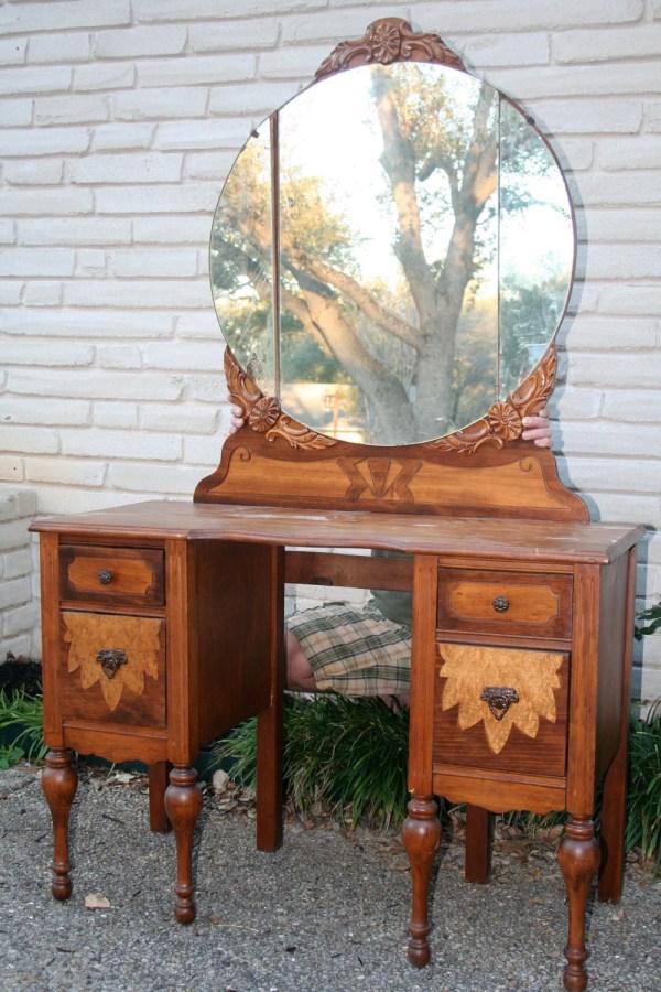 Reserved Michael Vintage Vanity Dressing Table