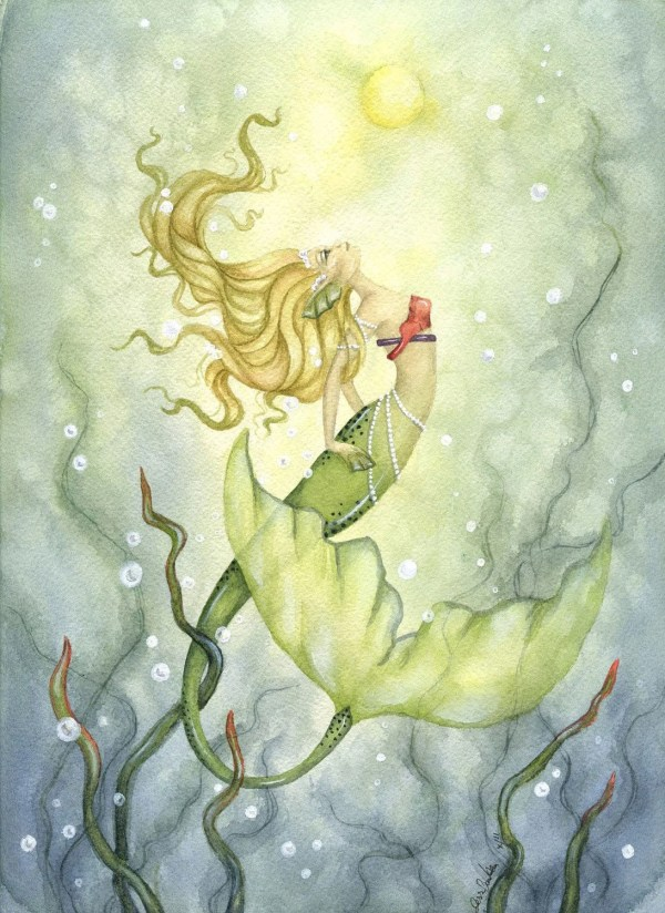 Whimsical Mermaid Art