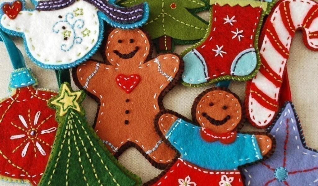 Felt Christmas Ornaments Patterns Home Garden Improvement Design