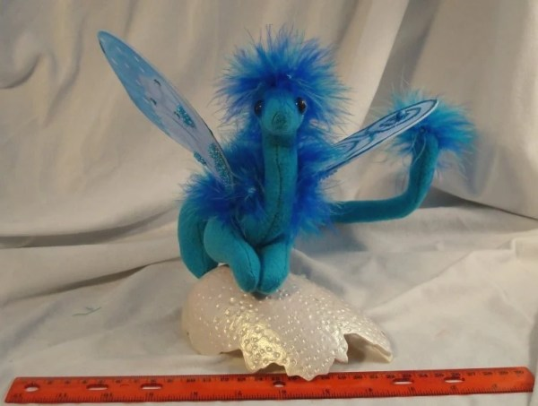 Small Turquoise Fairy Dragon