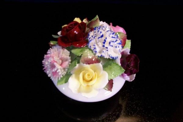 Royal Adderley Floral Bone China Knick Knack
