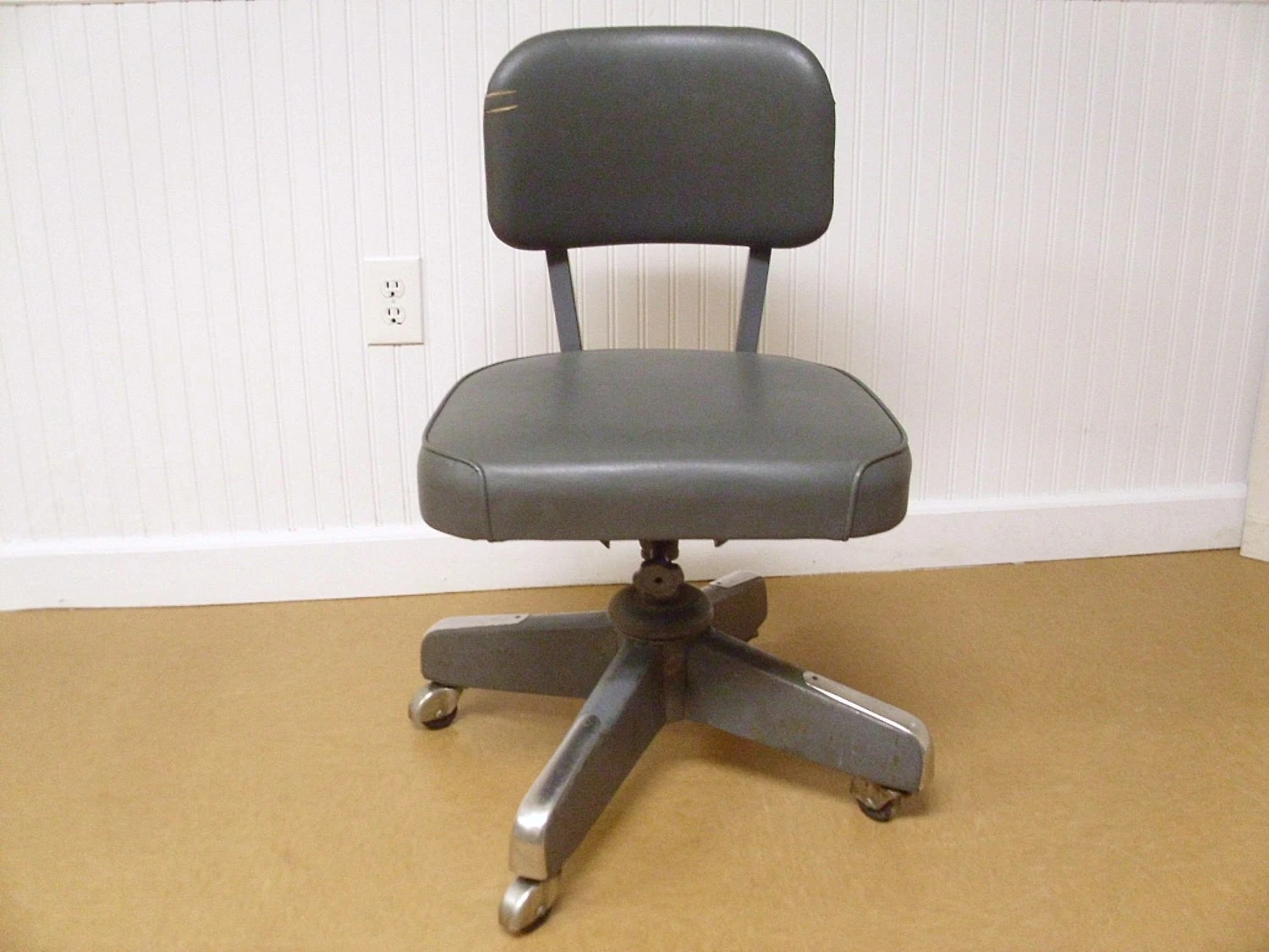 Retro Desk Chair Vintage Mid Century Industrial Office Chair