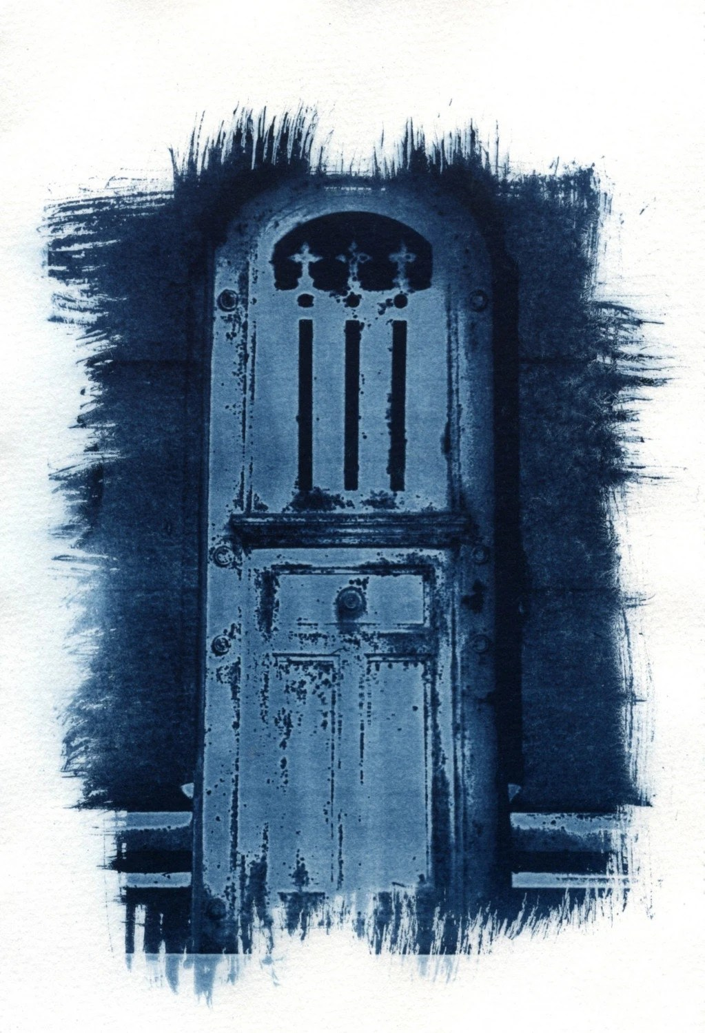 Pere Lachaise cyanotype - jalinde
