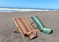 Vintage Canvas Beach Chair SALE