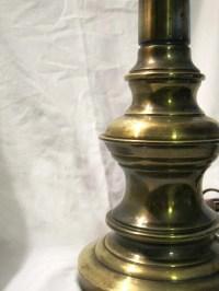 SALE vintage brass STIFFEL lamp heavyweight classic brass
