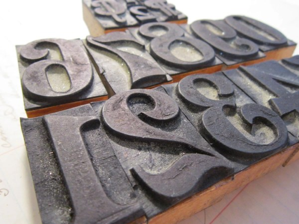 Antique Rubber Stamps Large Number Set With Theartfloozy