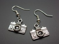 Camera Earrings geek jewelry funny earrings quirky earrings