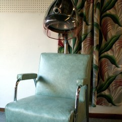 Dryer Chairs Salon Red Desk Chair Modern Vintage Hair