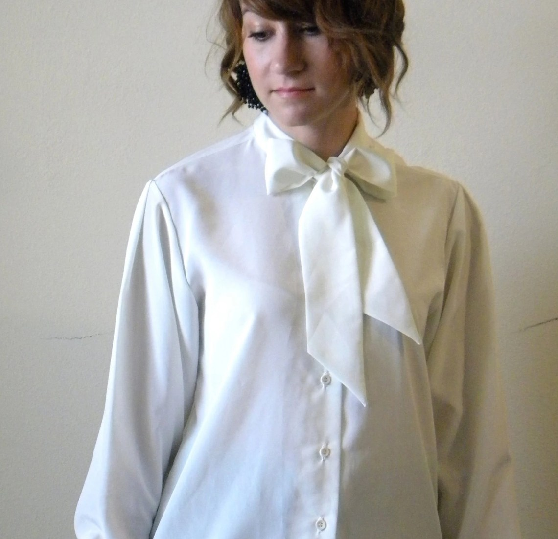 il fullxfull.247220215 Blouse With Bow Tie At The Neck