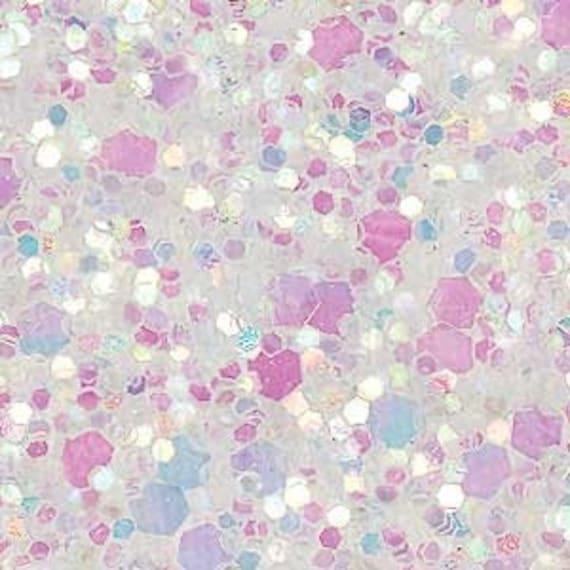Girl Minion Wallpaper Glitter Fabric Iridescent White Super Sparkly 210mm X 297mm