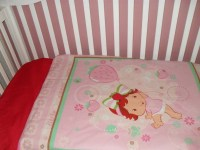 Baby Strawberry Shortcake Baby Toddler Bedding by ...