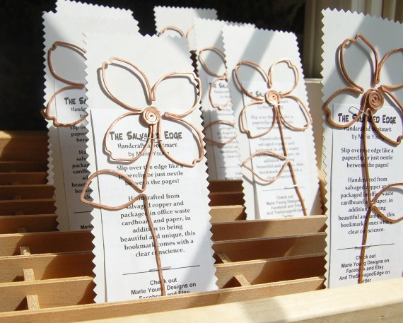 wedding favors in copper two dozen of same design (24) - TheSalvagedEdge