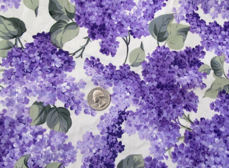 And Purple Green Fabric