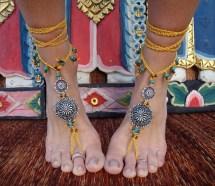 Boho Bohemian Barefoot Sandals