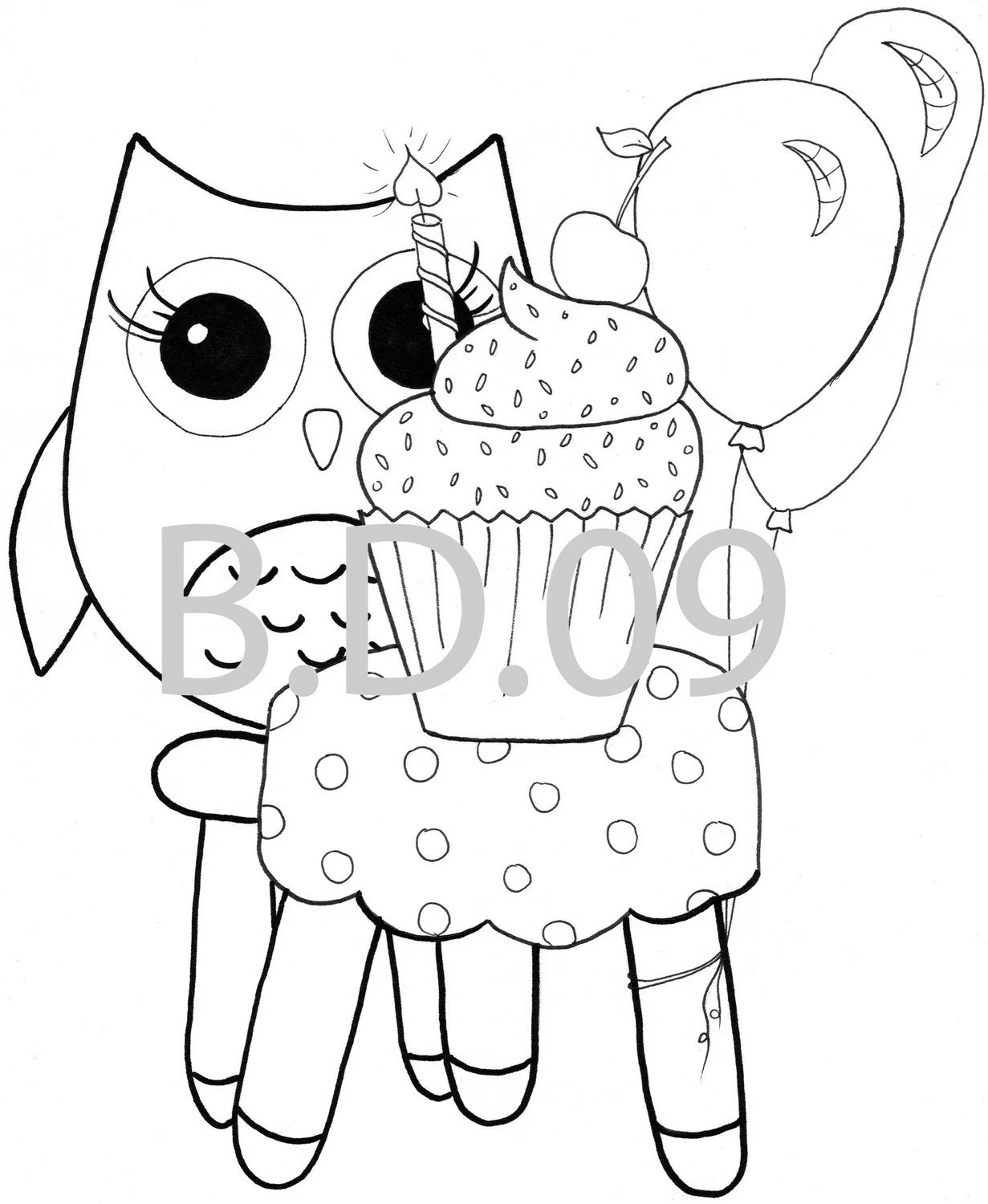 Coloring pages Owl Themed 10 pc by BDDesignCrafts on Etsy