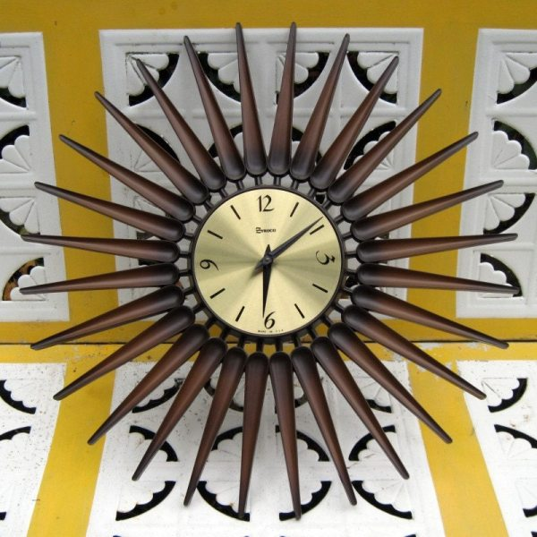 0ca796be6bc12 20+ Black And Gold Starburst Clock Pictures and Ideas on Meta Networks