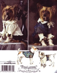 Simplicity 2759 Sewing Pattern Dog Costume