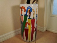 Ceramic Umbrella Stand Lillian Vernon