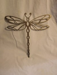 Items similar to Dragonfly Metal Wall and Garden Art on Etsy